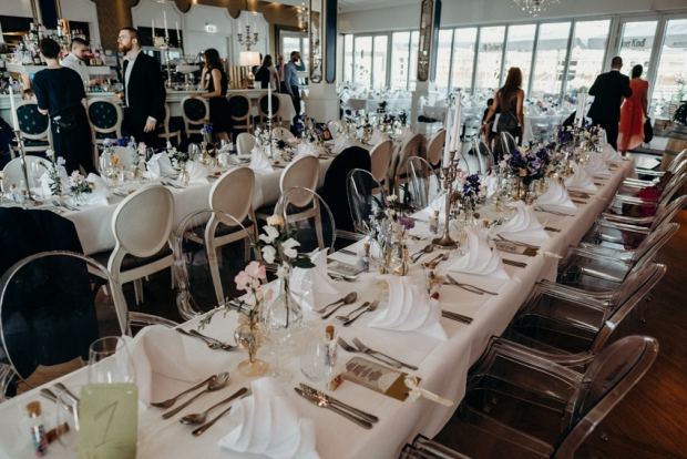 Festtafeln in der Hochzeitslocation in Berlin, Engel 07 – Wedding Planner Berlin